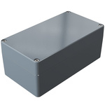 Rose Aluminium Standard, Grey Die Cast Aluminium Enclosure, IP66, 220 x 120 x 90mm Lloyds Register, Maritime Register,