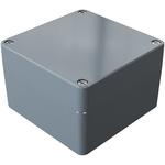 Rose Aluminium Standard, Grey Die Cast Aluminium Enclosure, IP66, 140 x 140 x 90mm Lloyds Register, Maritime Register,