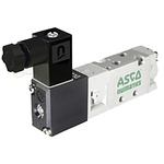 EMERSON – ASCO 5/2 Pneumatic Control Valve - Solenoid/Pilot Metric M5 519 Series 230V ac