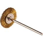 RS PRO Brass Circular Abrasive Brush, 21.6mm Diameter