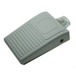 Herga Light Duty Wireless Foot Switch - Thermoplastic Case Material, 100 mA Contact Current