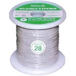 Sunhayato White, 0.08 mm² Hook Up Wire JUNFLON Series , 100m