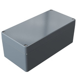 Rose Aluminium Standard, Grey Die Cast Aluminium Enclosure, IP66, 200 x 100 x 80mm Lloyds Register, Maritime Register,
