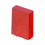 2 V Red LED Rectangular Through Hole, Bivar R3HC