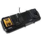 DeWALT DCB132-GB Battery Charger, 20 V, 60 V for use with DeWALT 54V XR Batteries, UK Plug