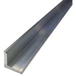 RS PRO 25mm x 25mm x 3mm Aluminium Angle