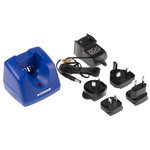 Crowcon C01942 Power Tool Charger for use with Gasman FL Detector, Euro Plug
