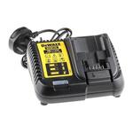 DeWALT DCB115-GB Drill Charger, 10.8 V, 14.4 V, 18 V for use with DeWalt XR series, UK Plug