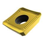 Pramet Square Milling Insert 9.53mm Side Length, 3.5mm Bore Diameter