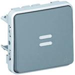 Legrand Single Pole Single Throw (SPST) Latching Push Button Switch, IP55, 64 x 64mm, Panel Mount, 250V