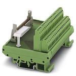 Phoenix Contact, 10 Pole Flat Ribbon Cable Connector, Male Interface Module, DIN Rail Mount
