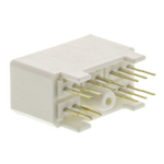 TE Connectivity, MULTILOCK 070 3.5mm Pitch 12 Way 2 Row Straight PCB Socket, Through Hole, Solder Termination