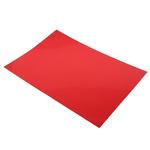 Red Plastic Shim, 457mm x 305mm x 0.38mm