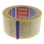 Tesa 4120 Transparent Packing Tape, 66m x 50mm