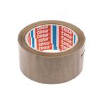 Tesa 4120 Brown Packing Tape, 66m x 50mm