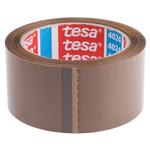 BDF Tesa 4024 Brown Packing Tape, 66m x 50mm