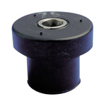 Paulstra Hutchinson 13mm 25.4mm Ring Shock Mount 53919060 10 → 25Hz +70°C 25 → 100daN 31.5mm 25 →