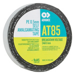 Advance Tapes AT85 Black Self Amalgamating Tape 25mm x 10m