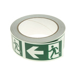 RS PRO Green High Visibility Tape 40mm x 10m