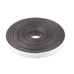 10m Magnetic Tape, Adhesive Back, 0.75mm Thickness