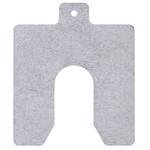 Stainless Steel Pre-Cut Shim, 100mm x 100mm x 3mm