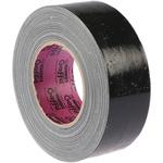 Advance Tapes AT202 Black Gloss Gaffa Tape, 50mm x 50m, 0.22mm Thick
