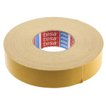 Tesa 4964 White Double Sided Cloth Tape, 38mm x 50m