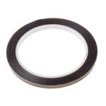3M 60 Black PTFE Tape 6mm x 33m x 0.10mm