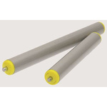 Interroll PVC Round Spring Loaded Conveyor Roller 40mm x 350mm