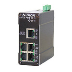 Red Lion Unmanaged Ethernet Switch, 5 RJ45 port DIN Rail Mount