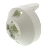 Lighting Cap for use with Lamp Holder, Snap-Fit Fixing