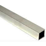 6063 T6 Square Aluminium Tube, 1m x 1.5in, 10SWG