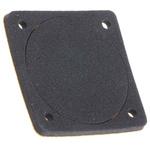 EPDM, Neoprene Fan Gasket, 42 x 42mm