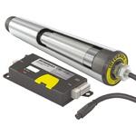 Interroll M12, M8 Conveyor Roller, 50mm x 449mm