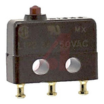 SPDT Pin Plunger Microswitch, 3 A
