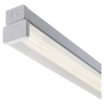 RS PRO Fluorescent Ceiling Light Linear Diffuser, 1 Lamp, 610 mm Long, IP20
