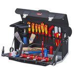 Knipex 23 Piece Electricians Tool Kit with Case, VDE Approved