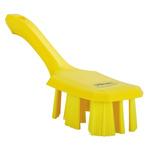 Vikan Broom, Yellow With PET Bristles