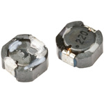 Murata, D63LCB, D63LCB Shielded Wire-wound SMD Inductor 22 μH ±20% Wire-Wound 1.34A Idc