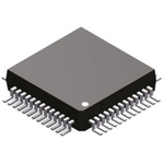 Analog Devices ADUC841BSZ62-5, 8bit 8052 Microcontroller, ADuC8, 20MHz, 4 kB, 62 kB Flash, 52-Pin MQFP
