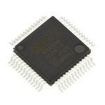 Analog Devices ADUC848BSZ62-5, 8bit 8052 Microcontroller, ADuC8, 12.58MHz, 4 kB, 62 kB Flash, 52-Pin MQFP