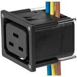 Schurter J IEC Connector Socket, 16.0A, 250.0 V