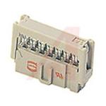 HARTING 10-Way IDC Connector Socket, 2-Row