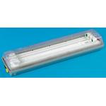 2 x 18 W, Light Fitting Light Fitting, 1, 2, Twin Fluorescent, Temp T4, 120 to 240 V ac