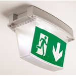Crompton Lighting Emergency Exit Sticker for use with Emergency Lighting