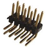 Stelvio Kontek, 474, 80 Way, 2 Row, Right Angle Pin Header