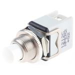 APEM 1NC Momentary Push Button Switch, 12.2 (Dia.)mm, Panel Mount, 250V ac