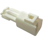 JST, MWP Male Connector Housing, 1 Way