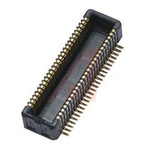 KYOCERA, 5846 0.4mm Pitch 60 Way 2 Row Right Angle PCB Header, Surface Mount, Screw, Solder Termination