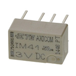 TE Connectivity DPDT PCB Mount Latching Relay - 2 A, 3V dc For Use In Automotive, Telecommunications Applications